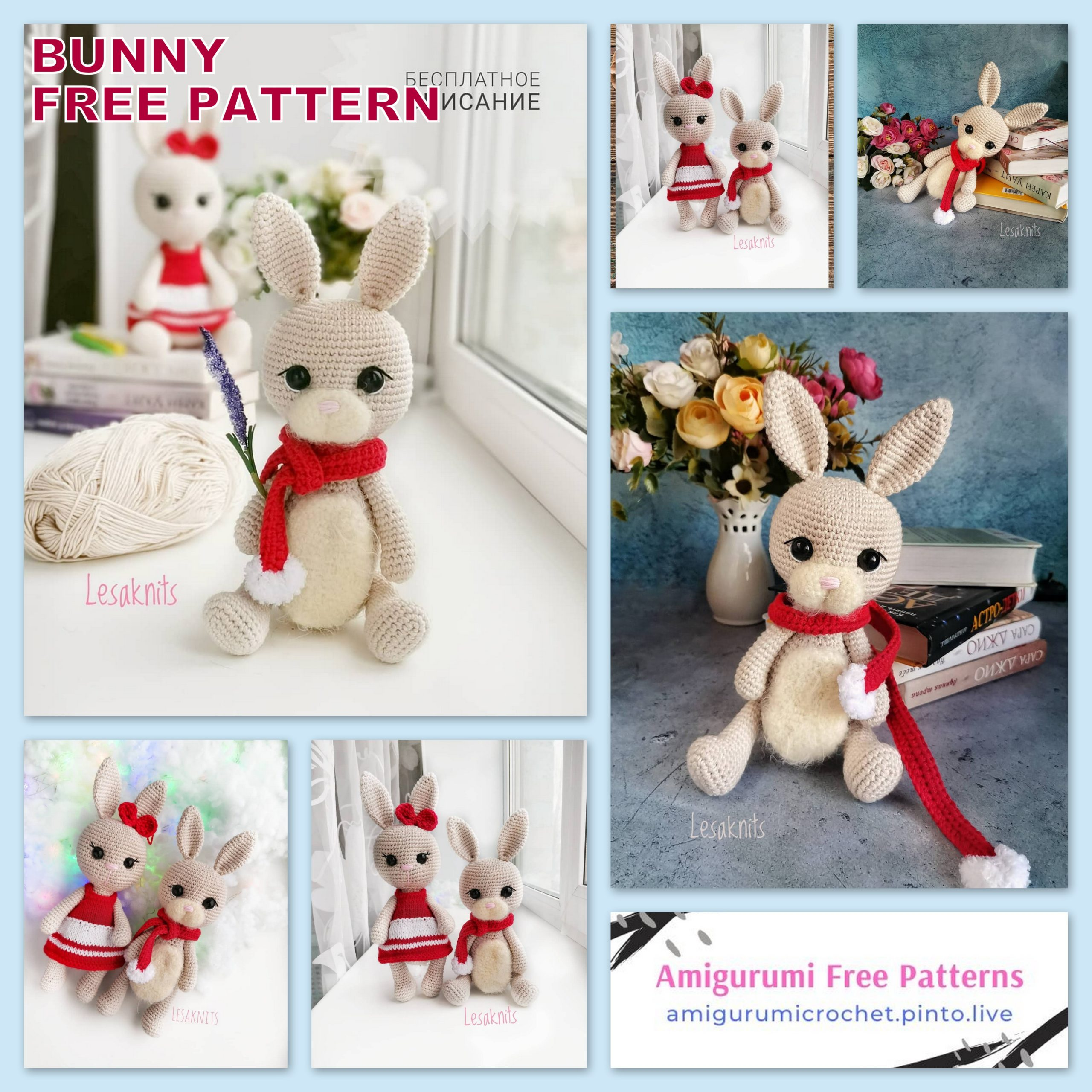 Bunny Crochet Free Pattern You Will Love This Collection | 2560x2560